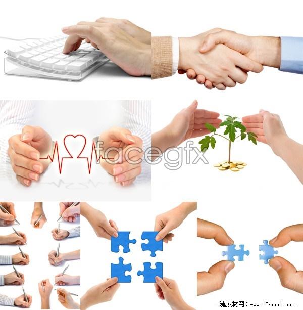 Variety of HD gestural  package
