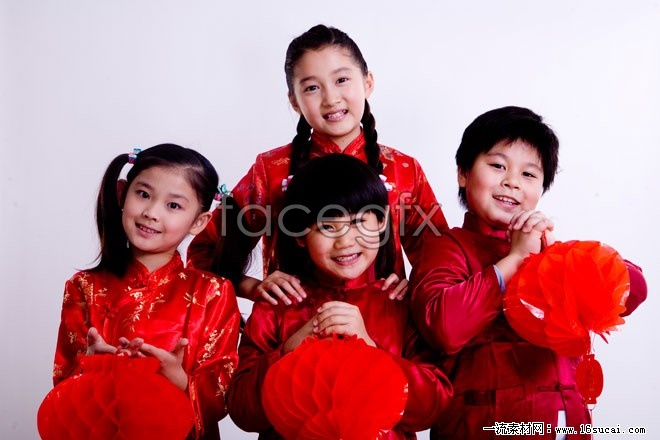 Baby new year Spring Festival high definition pictures