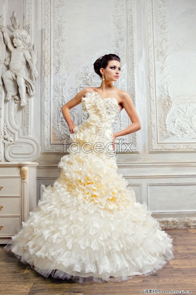 HD photography wedding gown pictures III