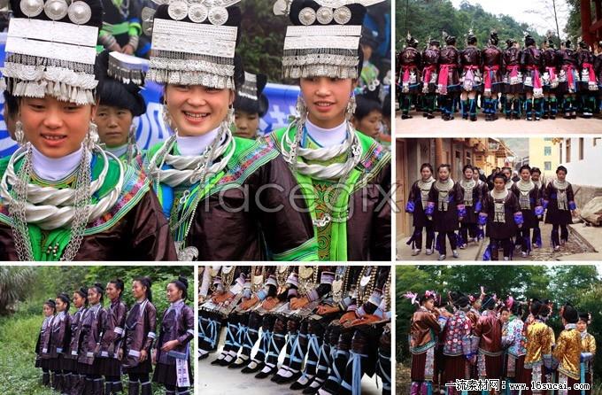 In congjiang of Guizhou ethnic minority HD Photo