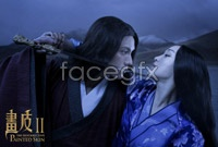 Zhou Xun, Chen Kun-lien still mask II desktop wallpapers