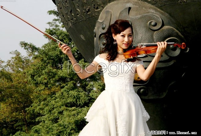 Violin girls HD pictures