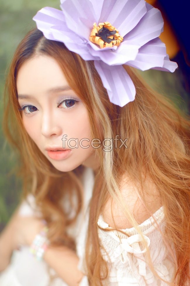 Cute Elf Princess Pei Zi beautiful fresh and refined high definition pictures