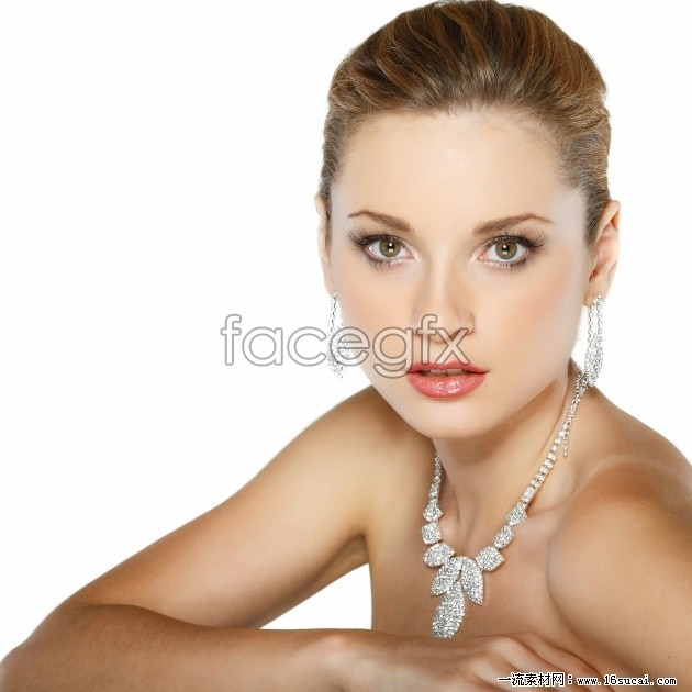 Platinum necklace beautiful HD pictures