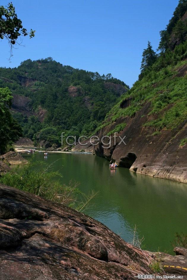 Fujian Wuyi Mountain scenic high definition pictures