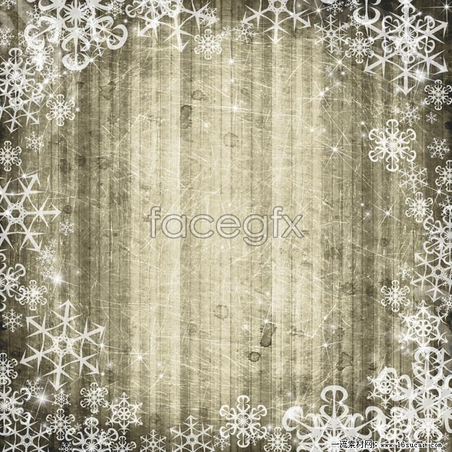 HD wood snowflake background pictures