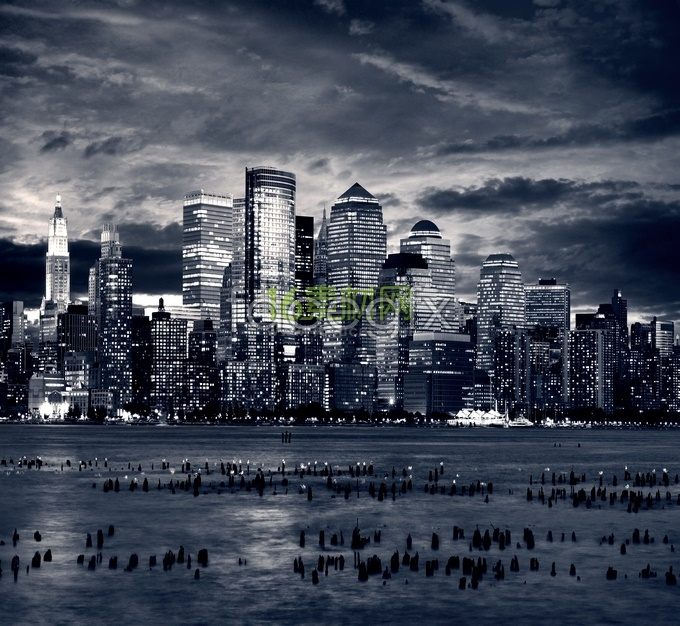 Modern urban landscape HD pictures