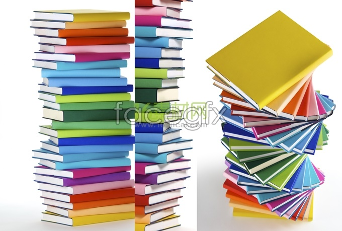 Stacked book-HD pictures