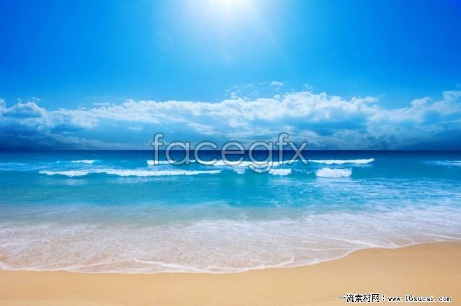 Summer beach HD picture
