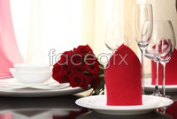 Western tableware HD picture