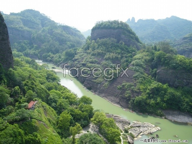 Wuyishan scenery high definition pictures