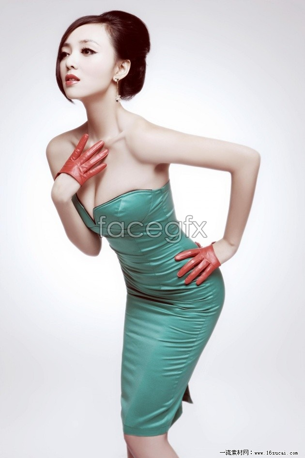 China sexy girl model HD picture