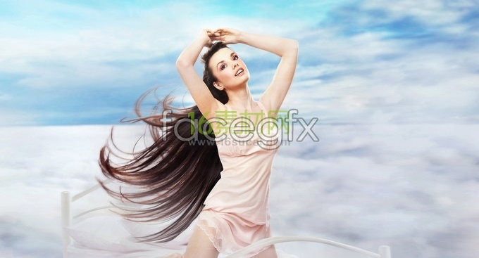 Europe and the long hair of natural beauty