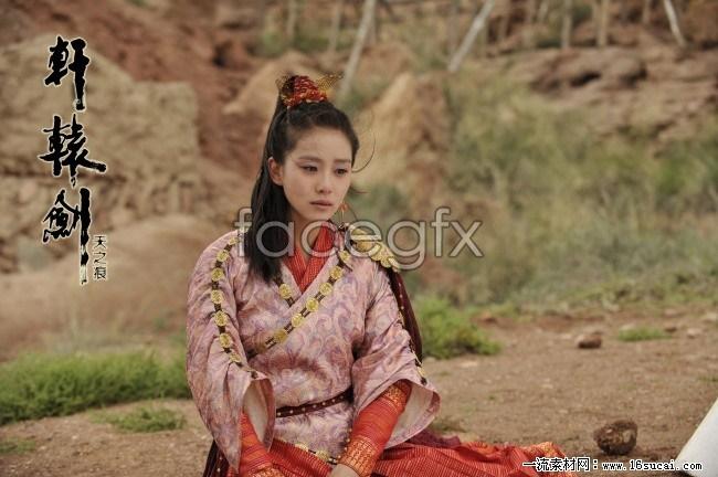 Xuanyuan Jian Liu Shi poems in traditional costume stills HD pictures