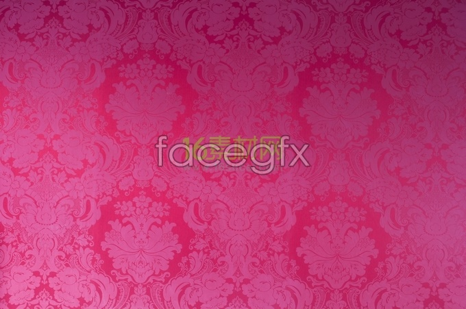 Antique pattern shaded red background picture