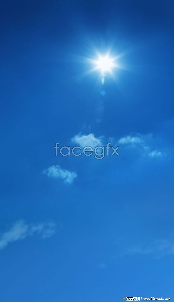 Cloudless sky HD pictures