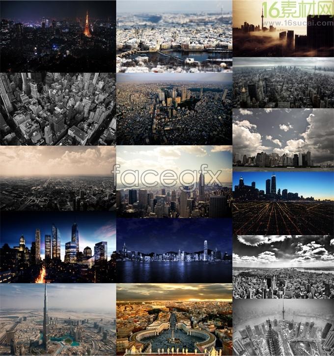Famous cities construction landscape high resolution images