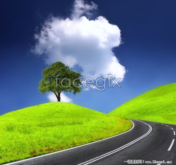 Hills Freeway HD pictures
