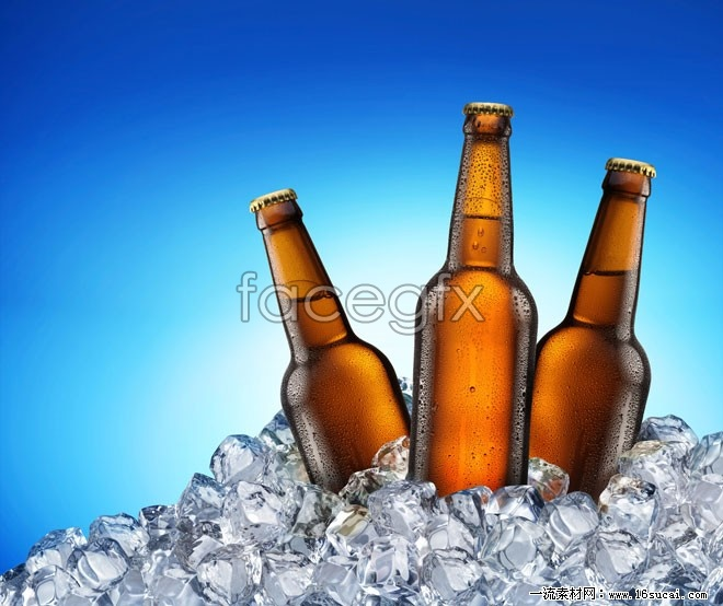 Ice-cold beer HD picture