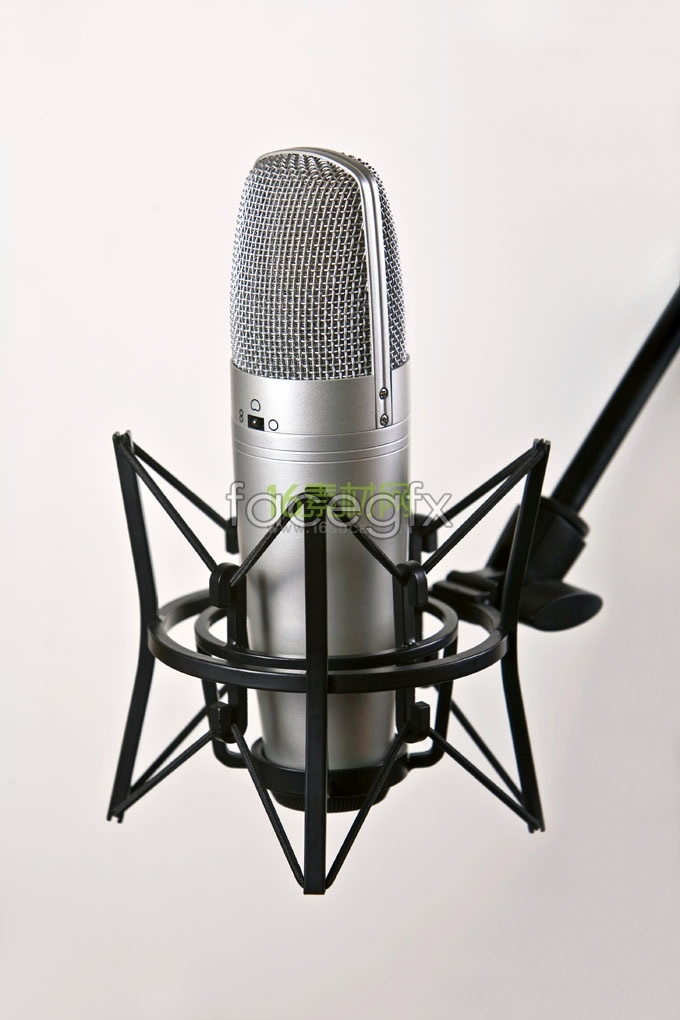 Professional microphone, HD photography pictures