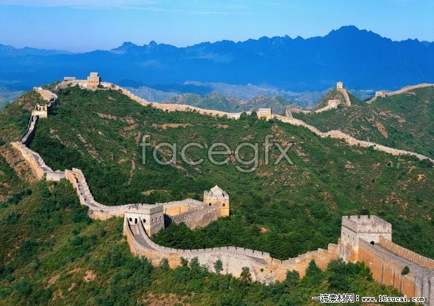 Ancient great wall HD Photo