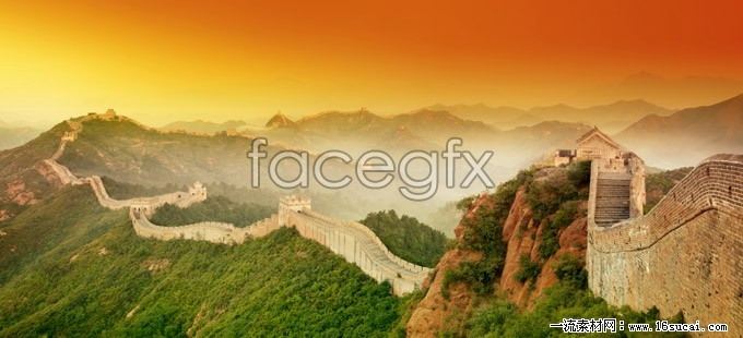 Badaling great wall HD pictures