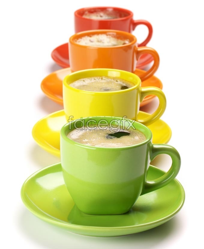 HD color coffee mug pictures