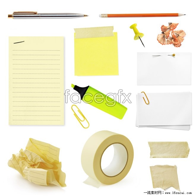 Office supplies collection HD pictures