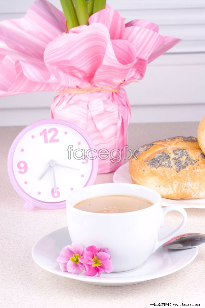 Pink flower Cup high definition pictures
