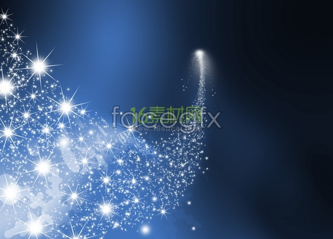Bright stars shining blue background pictures