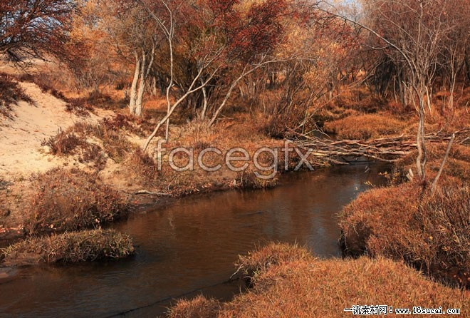Fall Creek landscape HD pictures