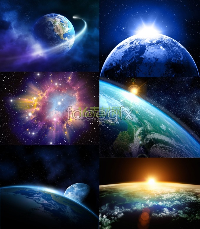 Gorgeous background of the universe HD pictures