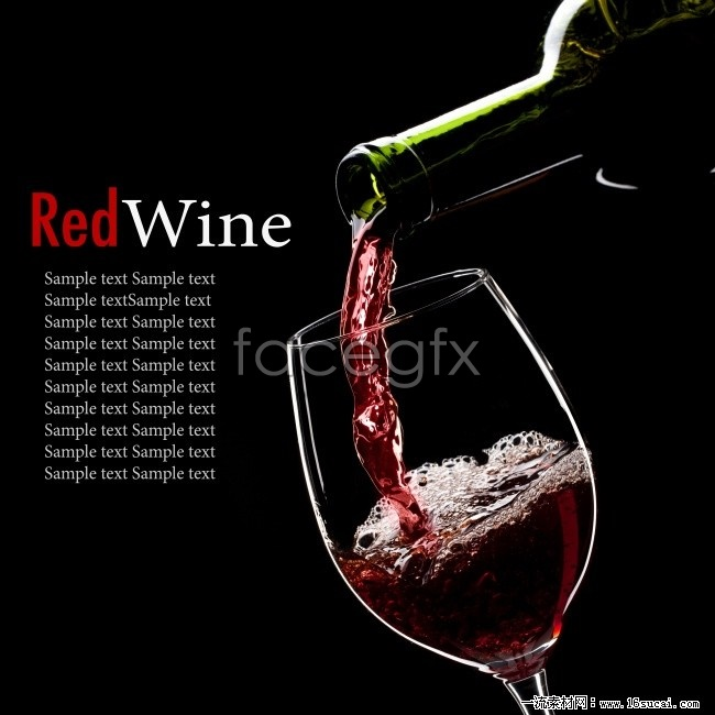 Red wine poster HD picture | Free download