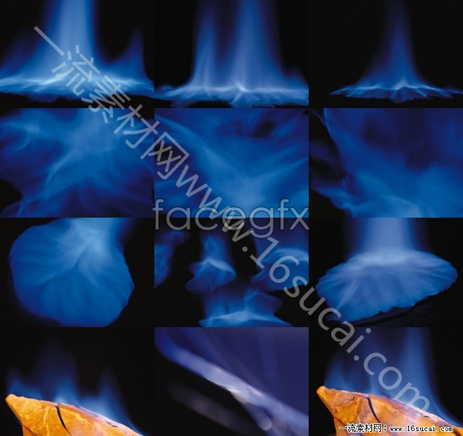 12 blue smoke effects backgrounds HD picture