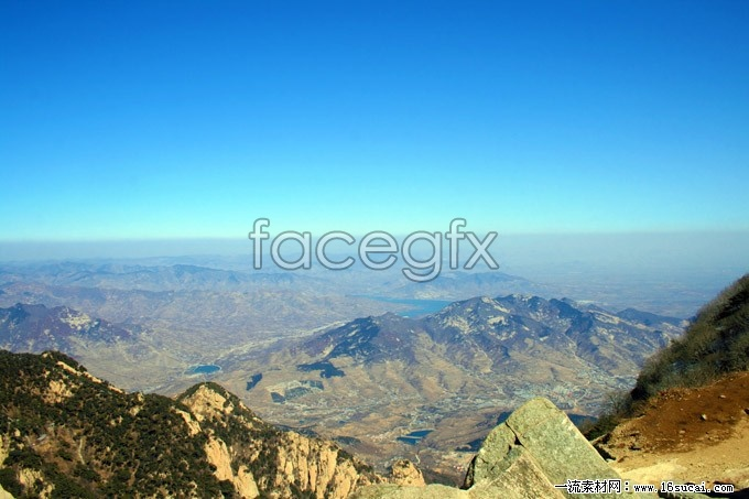 Gao Qingtai mountains overlooking the scenic pictures
