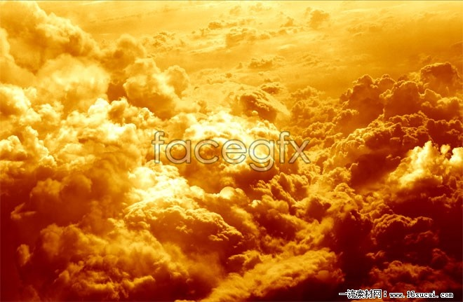 Thick clouds HD picture