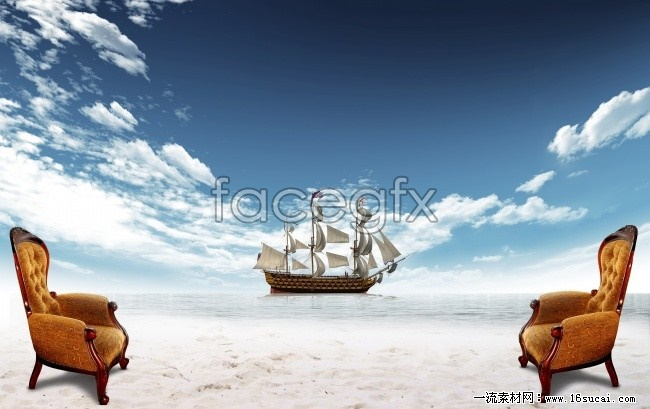 Artistic conception of HD desktop wallpaper