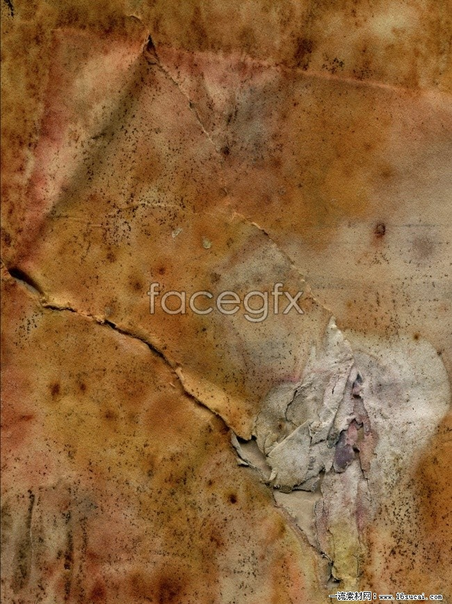 Crack musty paper picture background