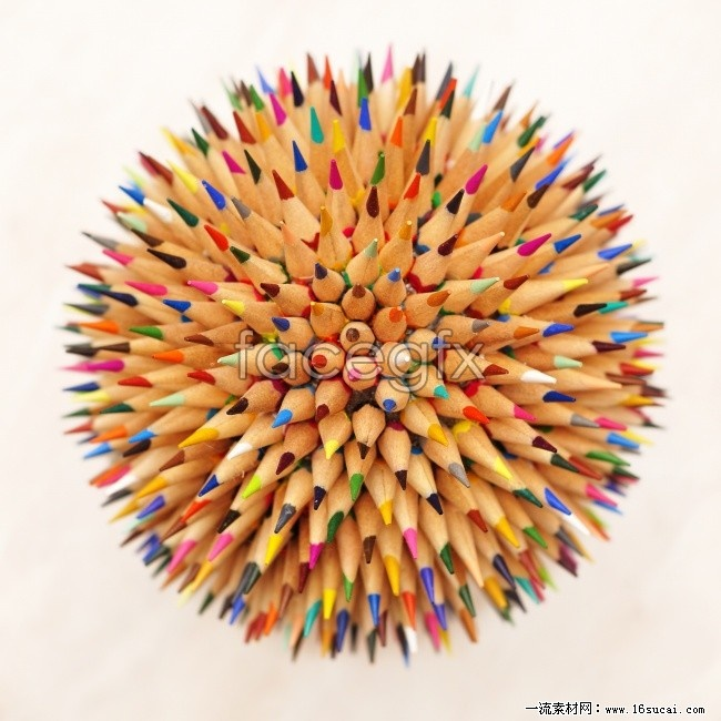 Creative pencil ball high definition pictures