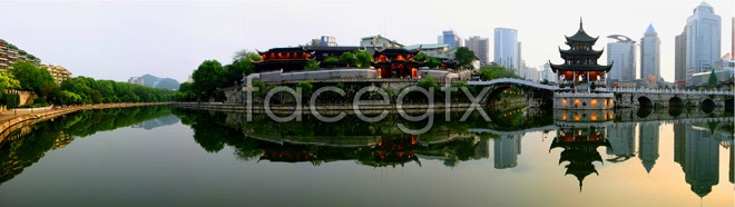 Guiyang-show floor panorama HD