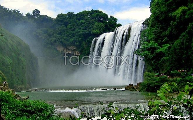 Guizhou huangguoshu falls high definition pictures