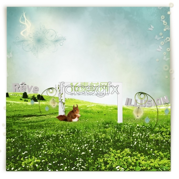 Pastoral dreams Spring Green beautiful HD pictures
