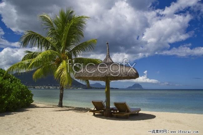 Sanya seaside beauty picture