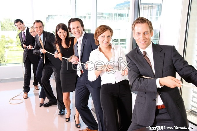 Tug of war business people high definition pictures
