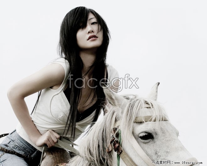 Beautiful riding art photography pictures
