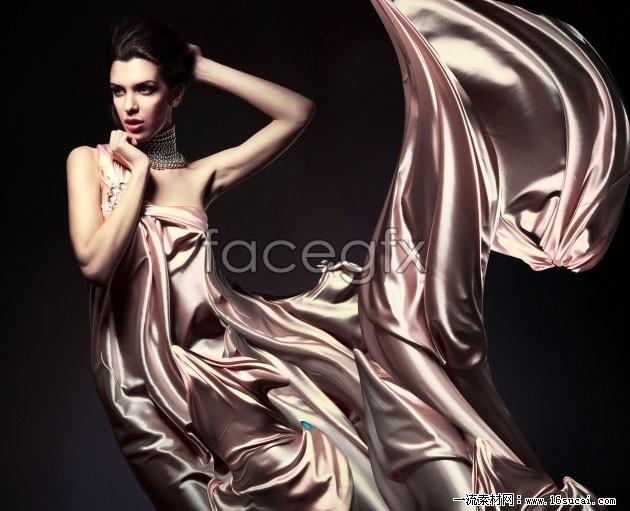 Dress model HD art photo picture