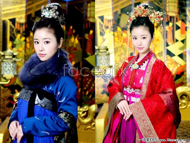 Gao Qinglin heart costume pictures