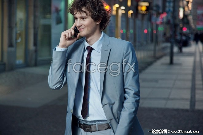 Street suit guy HD pictures