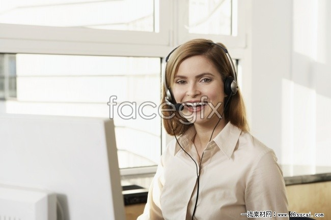 Customer service in Europe and America beautiful HD pictures