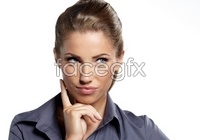 HD European and American career woman pictures